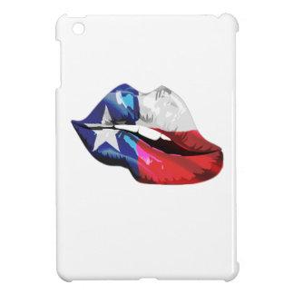 Texas Flag Lips iPad Mini Covers