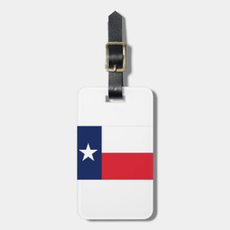 TEXAS FLAG LUGGAGE TAG
