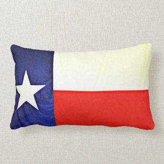 Texas Flag Lumbar Pillow