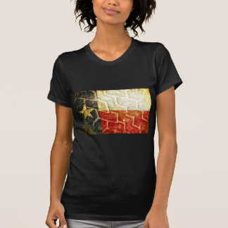 Texas Flag Mud Tire T-Shirt