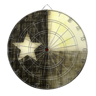 TEXAS FLAG OLD DRAWING DART BOARDS