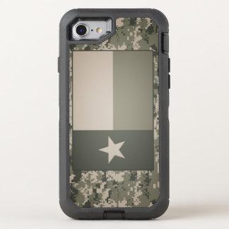 Texas Flag on Digital Camo iPhone Case