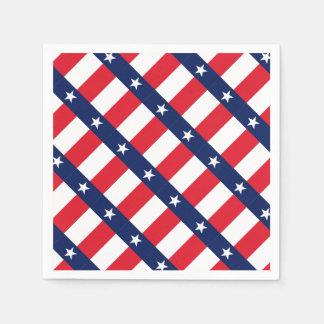 TEXAS FLAG PAPER NAPKINS