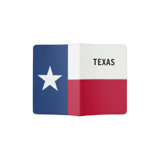 Texas Flag Passport Holder