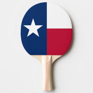 Texas flag ping pong paddle for table tennis