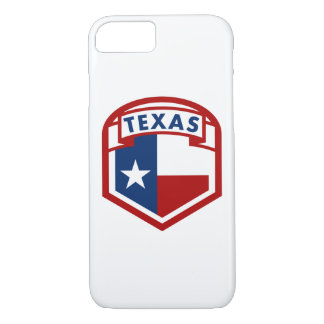 Texas Flag Shield Style Case-Mate iPhone Case