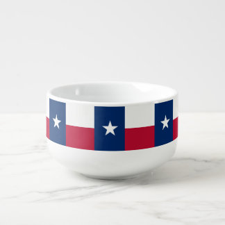 Texas Flag Soup Mug
