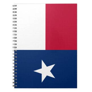 Texas Flag Spiral Notebook