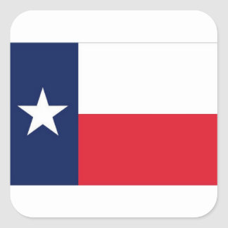 TEXAS FLAG SQUARE STICKER