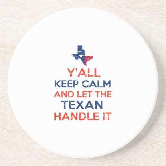 Texas Flag tees Coaster