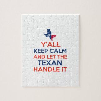 Texas Flag tees Jigsaw Puzzle