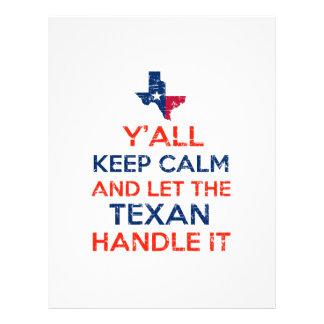 Texas Flag tees Letterhead