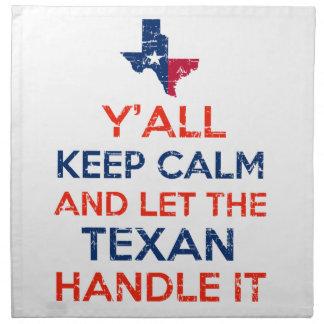 Texas Flag tees Napkin