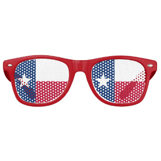 Texas Flag - Texan Pride Retro Sunglasses