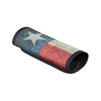 Texas flag vintage retro Luggage Handle Wrap
