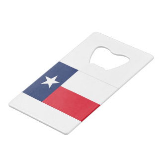 TEXAS FLAG WALLET BOTTLE OPENER