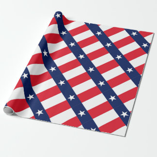 TEXAS FLAG WRAPPING PAPER