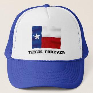 TEXAS FOREVER - Blue Trucker Hat