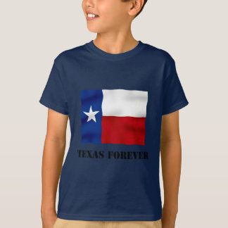 TEXAS FOREVER - Flag Text - Multi_Products T-Shirt