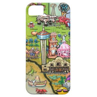 Texas Fun Map iPhone 5 Case