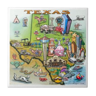 Texas Fun Map Tile