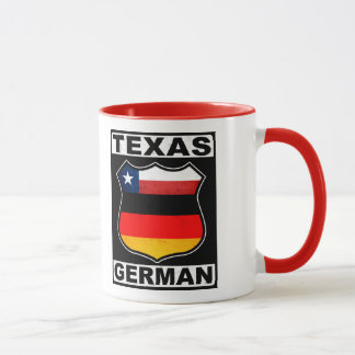 Texas German American Mug
