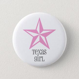 texas girl 2 inch round button
