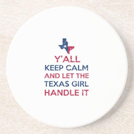 Texas Girl Tees Coaster