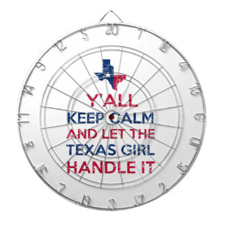 Texas Girl Tees Dartboard