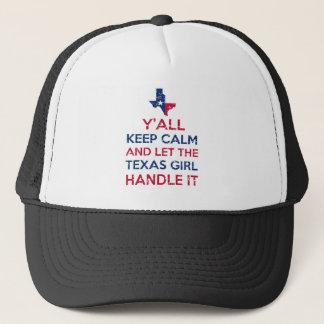 Texas Girl Tees Trucker Hat