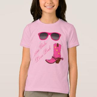 Texas Girls Love Pink T-Shirt