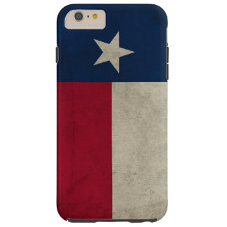 Texas Grunge- Lone Star Flag Tough iPhone 6 Plus Case