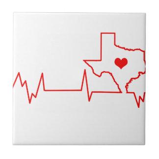 Texas Heart beat Tile