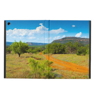 Texas Hill Country Red Dirt Road Cover For iPad Air