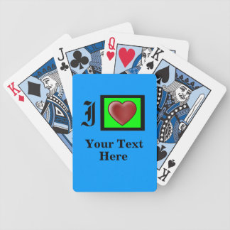 """""""Texas Holdem"""" Party Bay Bicycle Playing Cards"""