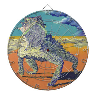 Texas Horned Lizard Dartboard