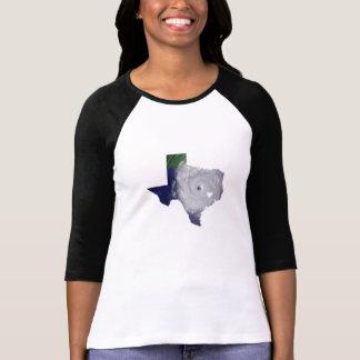 Texas hurricane map T-Shirt
