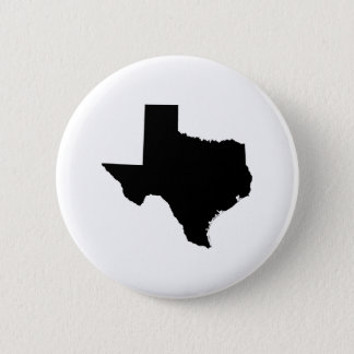 Texas in Black and White 2 Inch Round Button