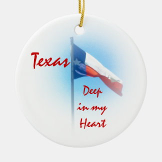Texas in My Heart Ornament