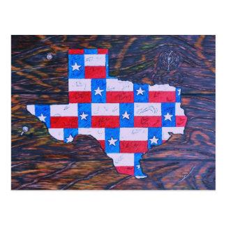 Texas is Big Postcard
