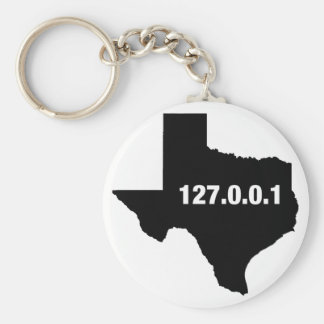 Texas Is Home Programmer Keychain