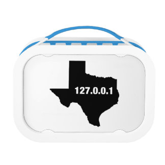 Texas Is Home Programmer Lunch Box