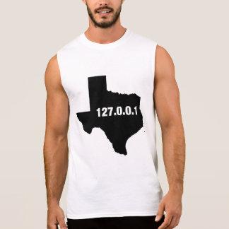 Texas Is Home Programmer Sleeveless Shirt