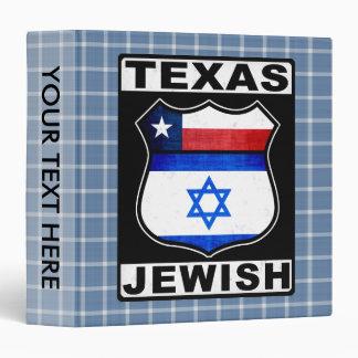 Texas Jewish American Binder