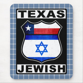 Texas Jewish American Mousemat Mouse Pad