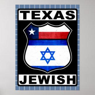 Texas Jewish American Poster Print