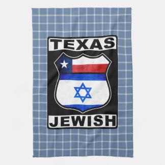 Texas Jewish American Tea Towels