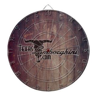Texas Lamborghini Dart Board