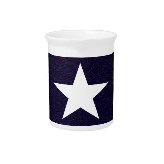Texas Lone Star Drink Pitcher