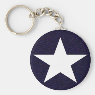 Texas Lone Star Keychain